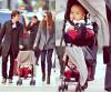 30.10.2011 ~ Miranda, Orlando et leur fils dans NYC