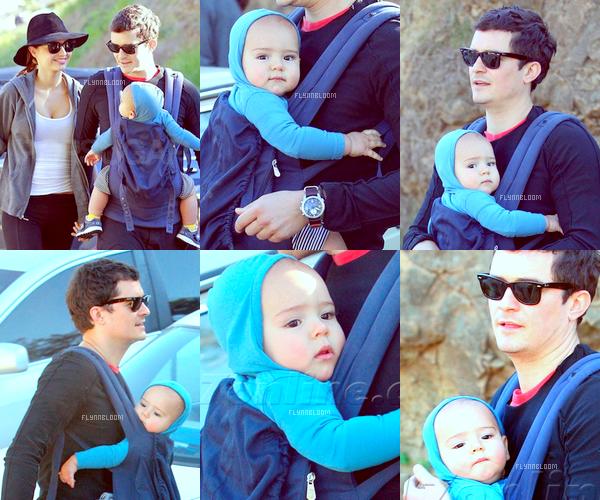 13.01.2012 ~ Orlando, Miranda et Flynn dans un parc de Los Angeles