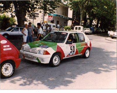 la voici au tous debut 1992 rallye Avignon Ventoux