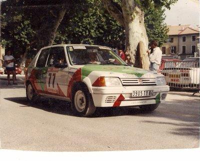 rallye de Roquemaure 1992