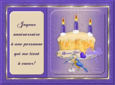 Joyeux Anniversaire A Toi Bienvenue Tt Le Monde