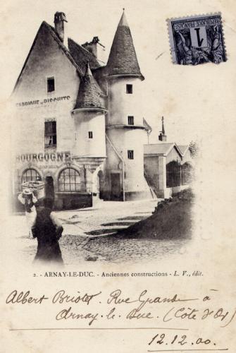 ARNAY LE DUC, mon village natal en Côte d'Or (21).