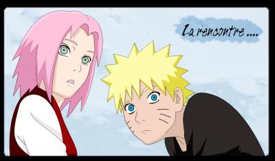 La premiere nuit de Naruto et de Sakura