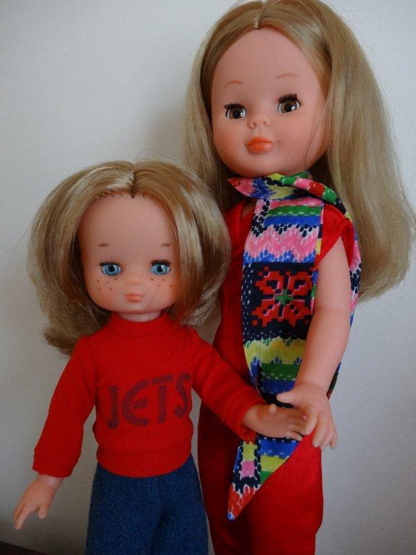 Nancy et sa petite soeur.