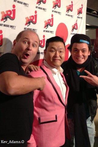 C'Cauet&Psy&Kev'adams