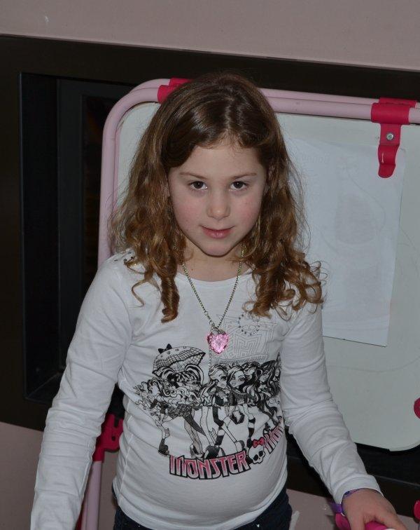 Bonjour, 1 papy heureux ma petite-fille à 7 ans le 15/02/2013