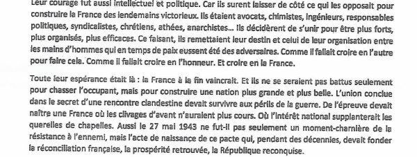 39/45 LA VICTOIRE DE LA RÉSISTANCE FRANÇAISE ET EUROPÉENNE