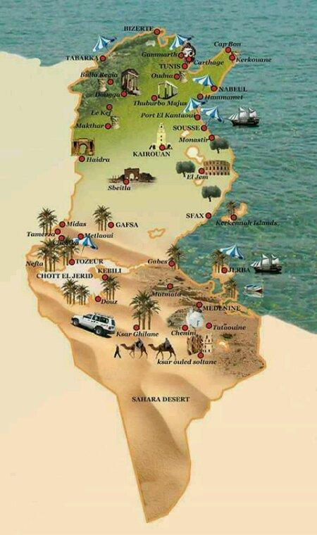 C mon pays,et je suis fiére d'etre Tunisien.
