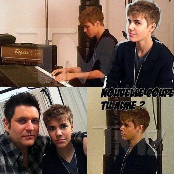 - Justin Bieber nous l'avez dit avant la sortie de son film, « Lorsque mon film sortira, je pense à coupé mes cheveux plus court! » et bien, c'est choses faites! Justin à coupé ces cheveux! MON AVIS : Justin Bieber est toujours beau, il a bien fait de coupé c'est cheveux. -
