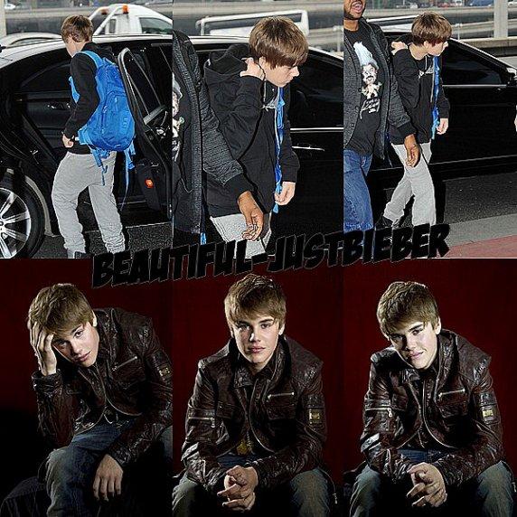 - - Justin a été aperçu hier ( 18 février )  à l'aéroport de Roissy à Paris. + Découvrez  un tout nouveau portrait de Justin qu'il à fait récemment à Los Angeles photographié par Dan McMedann, le 7 février. Super Canon le Bieber   -