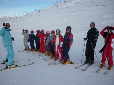 mon groupe de ski