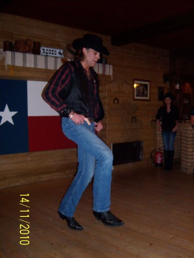 soiree country au texas coyotte