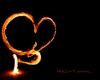 Die Flamme der Liebe