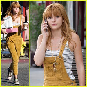Bella Thorne: Business Meeting Beauty!