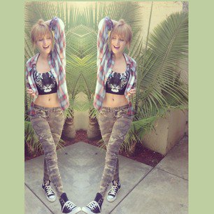 nouvel photo instagram de bella thorne !!!