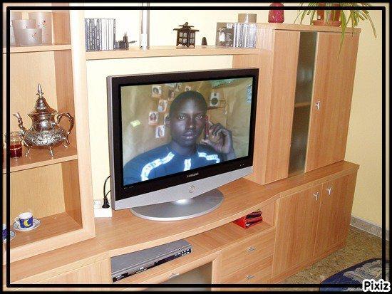 mbaye sur la tele