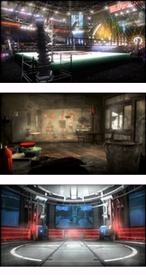 Les stages de Dead Or Alive 5.