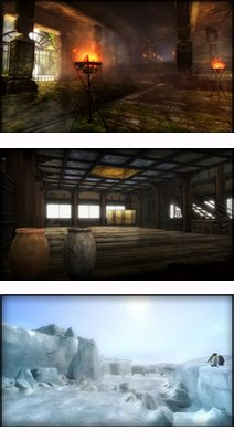 Les stages de Dead Or Alive 5.