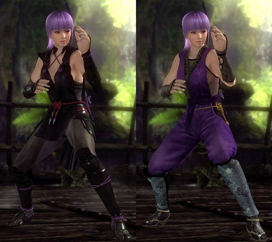 Costumes Ayane Dead Or Alive 5.