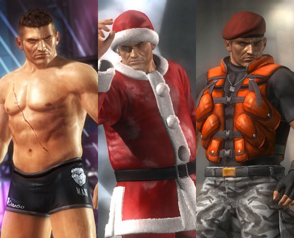 Costume Bayman Dead Or Alive 5.