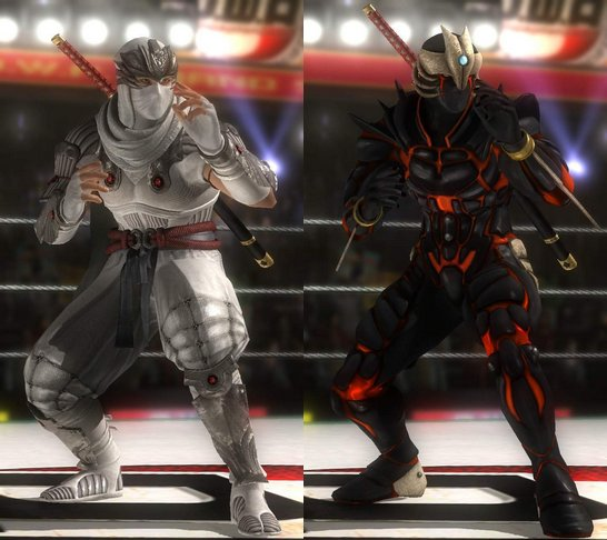 Costume Hayabusa Dead Or Alive 5.