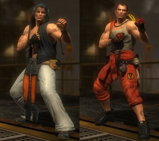 Costume Rig Dead Or Alive 5.