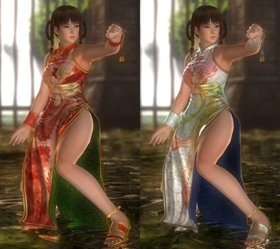 Costume Lei Fang Dead Or Alive 5.