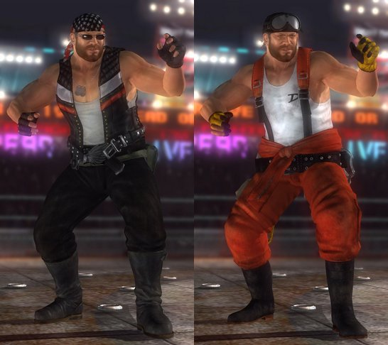 Costume Bass Dead Or Alive 5.