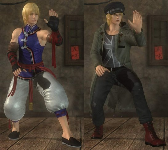 Costume Eliot Dead Or Alive 5.