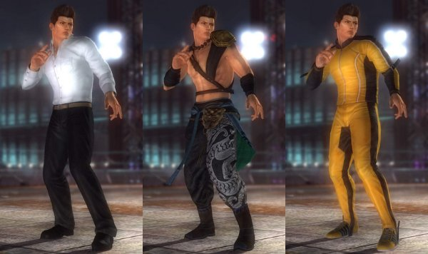 Costume Jann Lee Dead Or Alive 5.