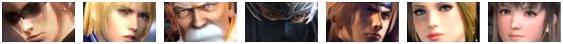 Les Costumes de Dead Or Alive 5 Ultimate.