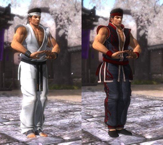 Costume Akira Dead Or Alive 5 Ultimate.