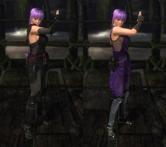 Warriors Orochi 3 Ultimate Kasumi: Costume Ayane Dead Or Alive 5 Ultimate.