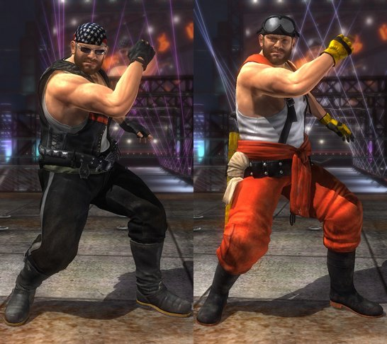 Costume Bass Dead Or Alive 5 Ultimate.