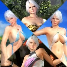 Costume Christie Dead Or Alive 5 Ultimate.