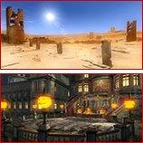 Les stages de Dead Or Alive 5 Ultimate.