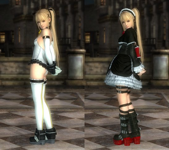 Costume Marie-Rose Dead Or Alive 5 Ultimate.