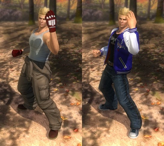 Costume Jacky Dead Or Alive 5 Ultimate.