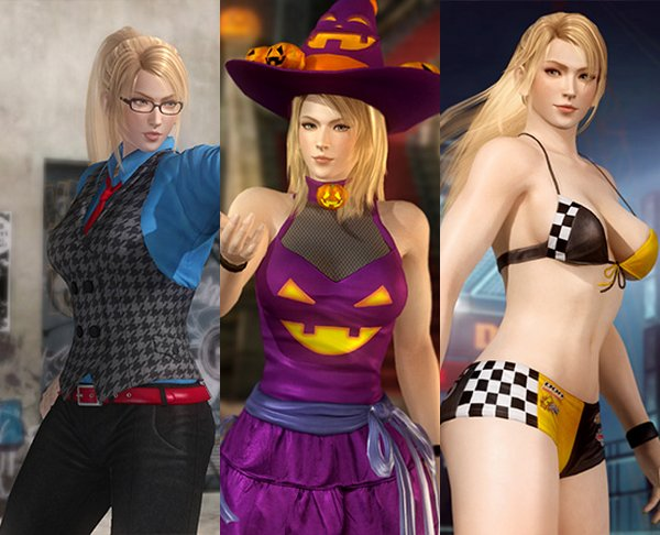 Costume Sarah Dead Or Alive 5 Ultimate.