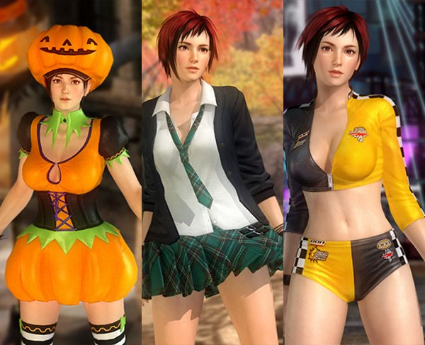 Costume Mila Dead Or Alive 5 Ultimate.
