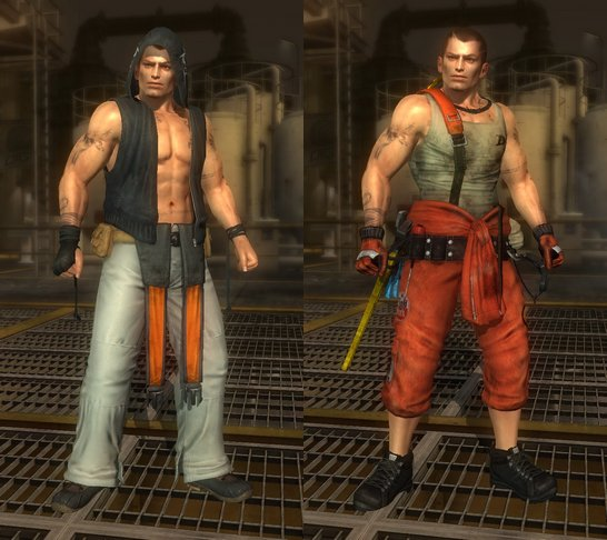 Costume Rig Dead Or Alive 5 Ultimate.