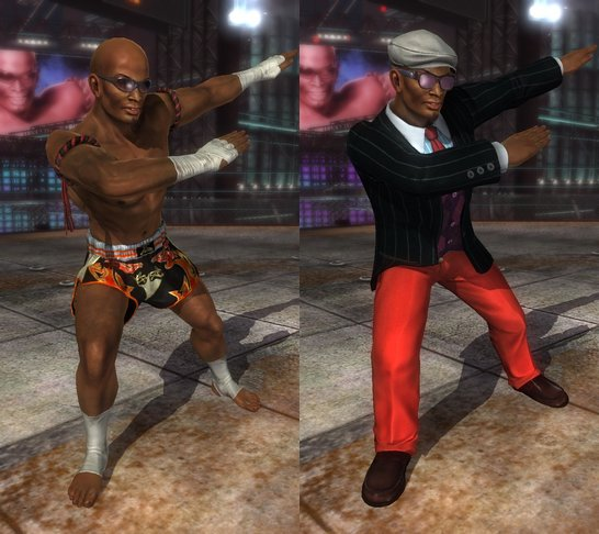 Costume Zack Dead Or Alive 5 Ultimate.