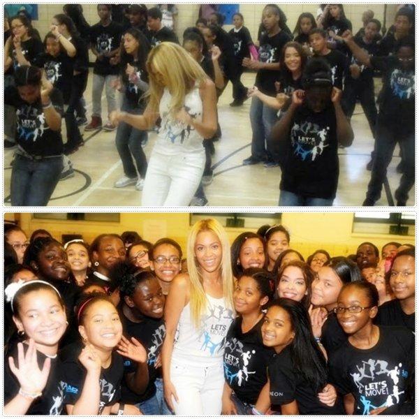 """© Beyoncé danse """" Move Your Body """" à Harlem"""