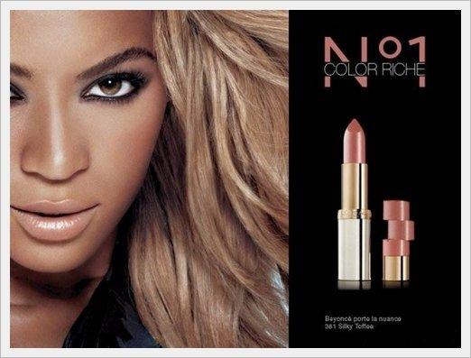 """© Beyoncé nouvelle publicité """"Color Rich"""" pour L'Oréal Paris"""
