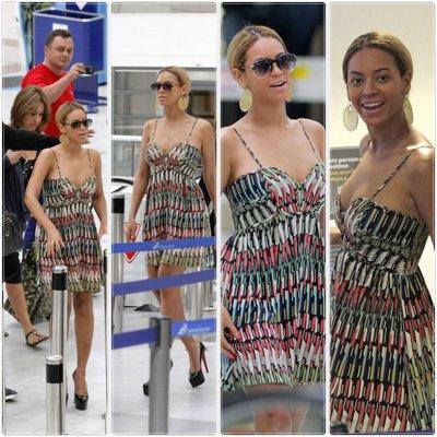 © Beyoncé à L'aéroport de Nice