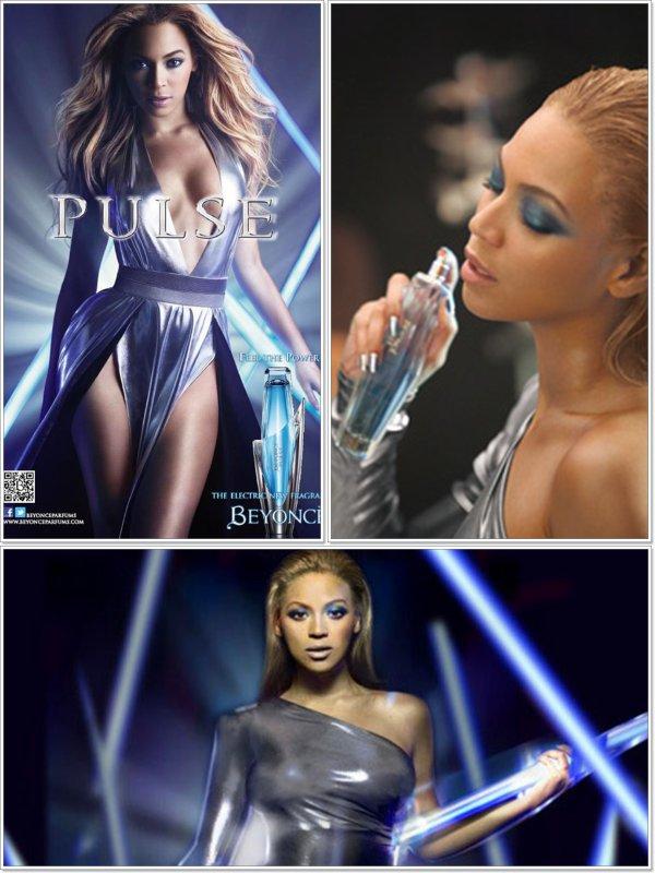 """© Beyoncé pour sa nouvelle fragance """"Pulse"""""""
