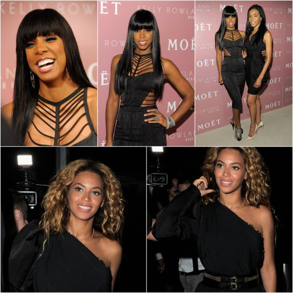 - Beyoncé et Michelle à la release party du nouvelle album de Kelly