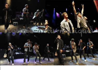 Big time rush les photos de leur concert le 19 avril