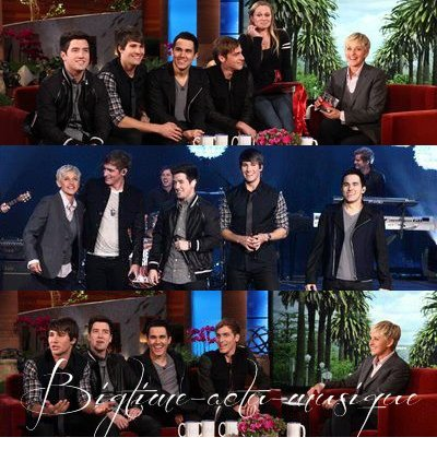 Ellen degenres Big Time Rush