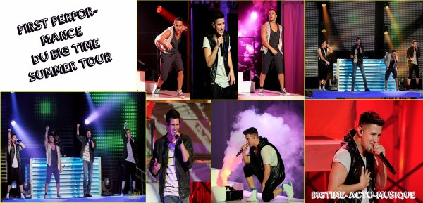 Big Time Rush  21 Juin Universal city , California (premier concert de Summer Tour)
